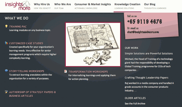 Knowledge Creation page redesign